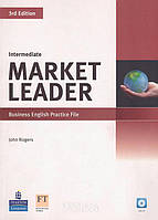 Рабочая тетрадь с аудиодиском «Market Leader» третье издание, уровень (B1) Intermediate, David Cotton, Simon Kent, David Falvey | Pearson-Longman