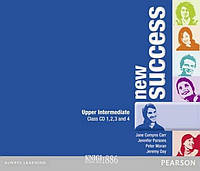 Аудио-диск «New Success», уровень (B2) Upper-Intermediate, Jeremy Day, Rod Fricker, Bob Hastings, Grant Kempton, Jo Kent | Pearson-Longman