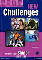 Учебник «New Challenges», уровень Starter, Michael Harris, Amanda Harris, David Mover, Anna Sikorzynska | Pearson-Longman