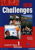 Учебник «New Challenges», уровень 1, Michael Harris, Amanda Harris, David Mover, Anna Sikorzynska   Pearson-Longman