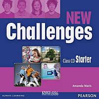 Аудио-диск «New Challenges», уровень Starter, Michael Harris, Amanda Harris, David Mover, Anna Sikorzynska | Pearson-Longman