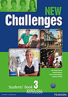 Учебник «New Challenges», уровень 3, Michael Harris, Amanda Harris, David Mover, Anna Sikorzynska   Pearson-Longman