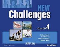 Аудио-диск «New Challenges», уровень 4, Michael Harris, Amanda Harris, David Mover, Anna Sikorzynska | Pearson-Longman