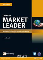 Книга для учителя «Market Leader» третье издание, уровень (A1) Elementary, David Cotton, Simon Kent, David Falvey | Pearson-Longman