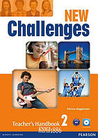 Книга для учителя «New Challenges», уровень 2, Michael Harris, Amanda Harris, David Mover, Anna Sikorzynska | Pearson-Longman