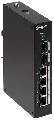 Управляемый POE коммутатор DH-PFS4206-4P-120