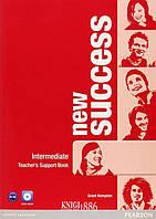 Книга для учителя «New Success», уровень (B1) Intermediate, Jeremy Day, Rod Fricker, Bob Hastings, Grant Kempton, Jo Kent | Pearson-Longman
