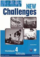Рабочая тетрадь «New Challenges», уровень 4, Michael Harris, Amanda Harris, David Mover, Anna Sikorzynska | Pearson-Longman