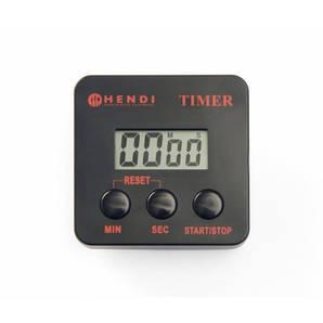 Таймер кухонный электронный 6,7х6,7 см. Hendi