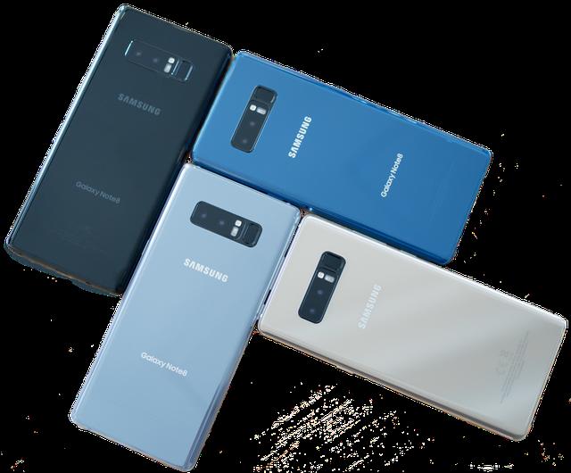 "Samsung Galaxy Note 8 цвета, интернет-магазин ""МобилМастер"""