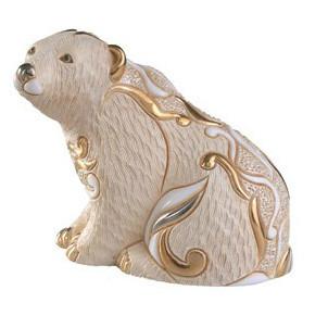 Фигурка De Rosa Rinconada Families Медведь Полярный Сидящий Dr118f-15 бежевый