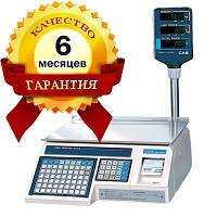 Весы с печатью этикеток CAS - LP 1.6 (со стойкой) Ethernet бу