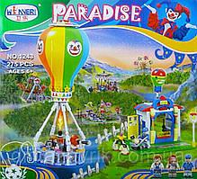 Конструктор 1243 PARADISE 275 деталей