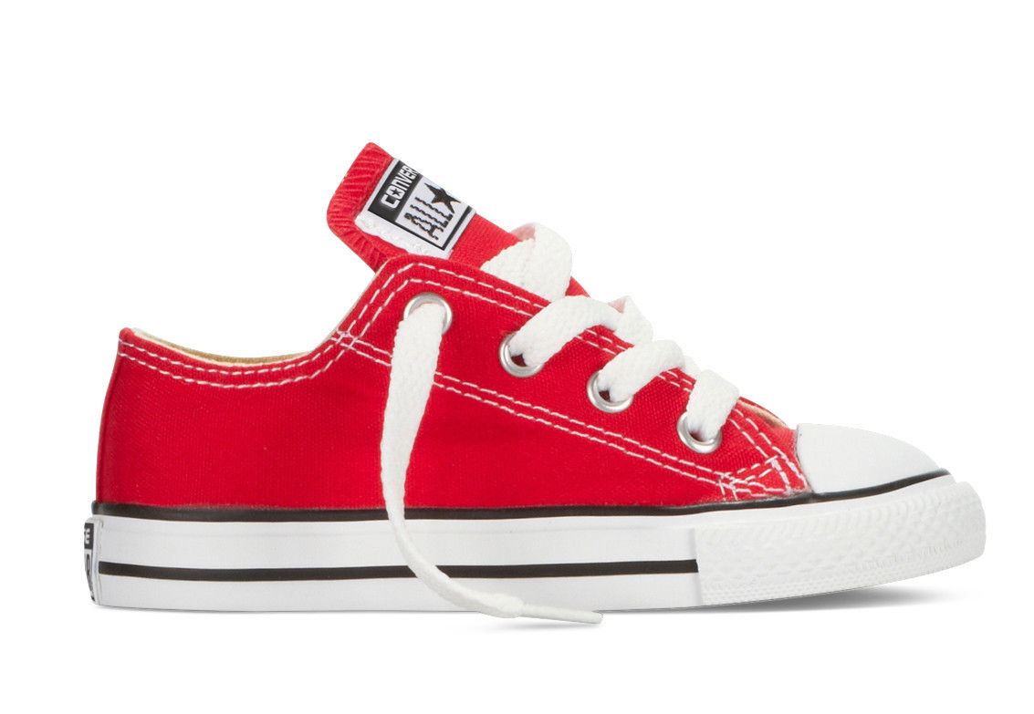 Детские кеды Converse All Star(конверсы) красные качественная копия -  Интернет магазин Фрилайн в 1937d3721fa