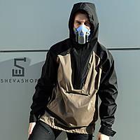 Черный мужской анорак ТУР Shadow, бежевый, фото 1