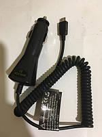 АЗУ Android micro USB Xqisit автомобильная зарядка 12/24V-5V