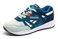 Кроссовки мятные с синим Reebok Classic, унисекс, р. 36 37 38 39 40
