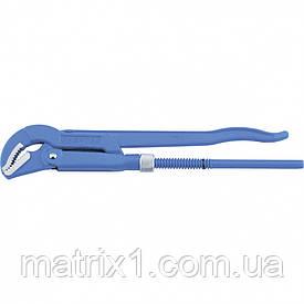 Ключ трубний важільний, 330 х 25 мм, з вигнутими губками. СИБРТЕХ