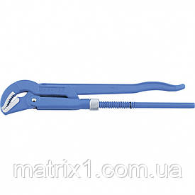 Ключ трубный рычажный, 330 х 25 мм, с изогнутыми губками. СИБРТЕХ