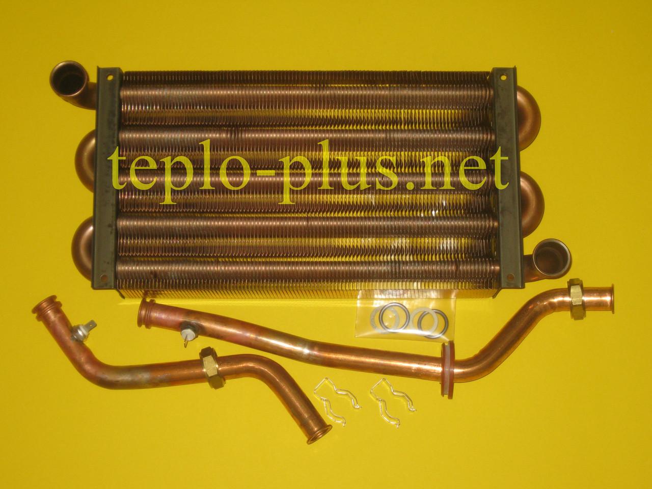 Теплообменник первичный (основной) 064714 Vaillant TURBOmax Pro / Plus VUW 242/2-3, VUW 242/2-5