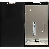 Дисплей (экран) для Lenovo A7-30 леново Tab 2 + тачскрин, цвет черный