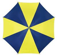 """Зонт трость крючек Желто - Голубой, - """"Патриот"""""""