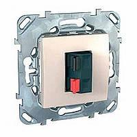 Аудиорозетка сл.кость Schneider Electric - Unica (Шнейдер Электрик Уника mgu3.486.25), фото 1
