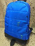 Рюкзак puma пума Новые модели с кожаным дном Спортивный городской стильный только ОПТ, фото 2