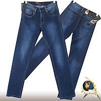 Мужские качественные джинсы классического покроя ADJ синего цвета
