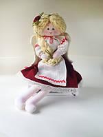 Украинская Национальная игрушка Добрый Ангел Украиночка мягкая кукла