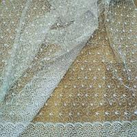 Тюль вышивка на фатине