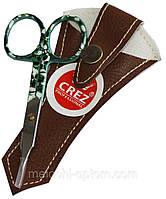 Ножницы маникюрные CREZ (ногтевые) цветные, ручная заточка