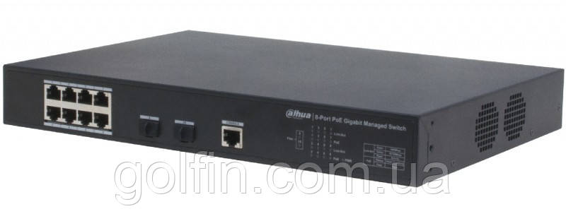 8-портовый управляемый гигабитный POE коммутатор PFS4210-8GT-150
