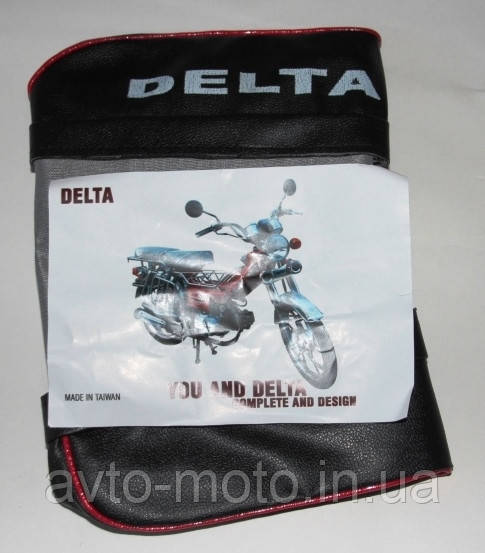 Чехол сиденья Дельта пассажирский с надписью DELTA