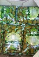 Оливки Contadina Olive Verdi Dolce Giganti Контадина Верди Долче Гиганти Италия 850г/500г чистого веса зеленые