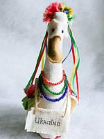 Украинская Национальная игрушка Гусь Maid in Ukraine мягкая кукла