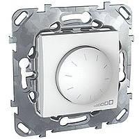 Светорегулятор белый 400 Вт Schneider Electric - Unica (Шнейдер Электрик Уника mgu3.511.18), фото 1