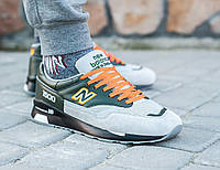 "Кроссовки New Balance 1500 ""Grey/Black/Orange"""