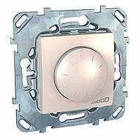 Светорегулятор сл.кость 400 Вт Schneider Electric - Unica (Шнейдер Электрик Уника mgu3.511.25), фото 1