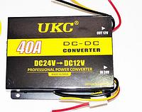 Преобразователь инвертор 24-12V 40A