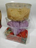 Тубус прозрачный пластиковый