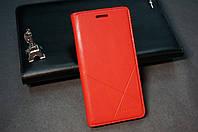 Чехол книжка для Lenovo A6000 A6010 Pro K3 K30 цвет красный