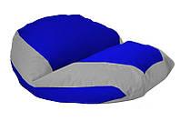 """Кресло мешок """"Zorosan""""цвет 010 бескаркасное кресло,пуфик мешок,кресло пуф, мягкое кресло пуф."""