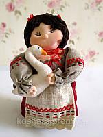 Украинская Национальная игрушка Украинка Козачка мягкая кукла