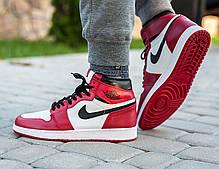 "Кроссовки Nike Air Jordan 1 ""Red/White"", фото 2"