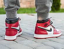 "Кроссовки Nike Air Jordan 1 ""Red/White"", фото 3"