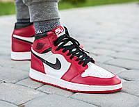 "Кроссовки Nike Air Jordan 1 ""Red/White"""