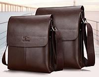 Мужская кожаная сумка. Модель 63151, фото 2