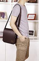 Мужская кожаная сумка. Модель 63151, фото 6