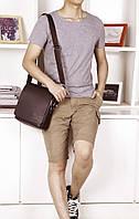 Мужская кожаная сумка. Модель 63151, фото 7